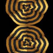 Golden Waves Hightide Natures Abstract Colorful Signature Navinjoshi Fineartartamerica Pixels Poster