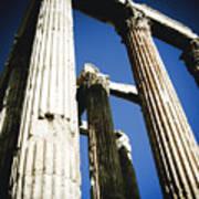Greek Pillars Poster