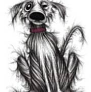 Grumpy Dog Poster