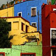Guanajuato Hillside 3 Poster