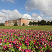 Hampton Court Palace London Uk Poster