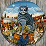 Harvest Time In Sturbridge Poster