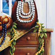 Hawaiian Still Life Panel Poster