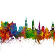 Heidelberg Germany Skyline Poster
