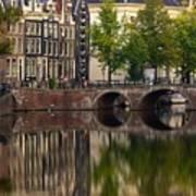 Herengracht Canal. Amsterdam. Netherlands. Europe Poster