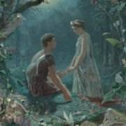 Hermia And Lysander Poster