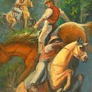 High Country Riding Poster