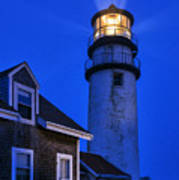 Highland Lighthouse Poster by John Greim