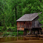 Historic Rikard's Mill - Alabama Poster