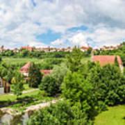 Historic Town Of Rothenburg Ob Der Tauber  Poster