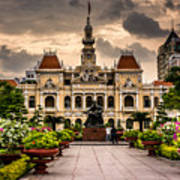 Ho Chi Minh City Hall Poster