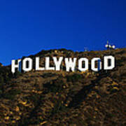 Hollywood Sign Los Angeles Ca Poster