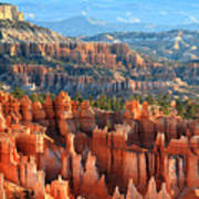 Hoodoos Of Sunset Point In Bryce Canyon Poster