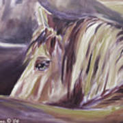 Horse World Detail Poster