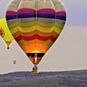 Hot-air Balloning Poster by Heiko Koehrer-Wagner