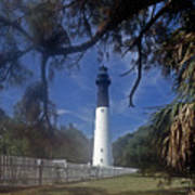 Lh 8-3 Hunting Island Lighthouse Sc Poster