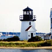 Hyannis Inner Harbor Light Poster