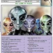 Magazine  Illustration Poster