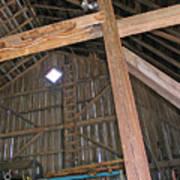 Inside The Barn Poster