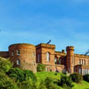 Inverness Castle, Scotland Poster