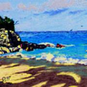 Island Coast Poster