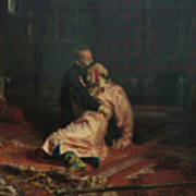 Ivan The Terrible And His Son Ivan On November 16, 1581 Poster