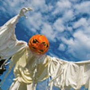 Jack-o-lantern Man Poster