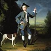 Jacob Morland Of Capplethwaite Poster