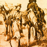 J.c. Fremont And His Guide, Kit Carson Poster