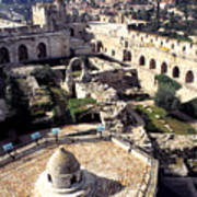 Jerusalem From The Tower Of David Museum Poster