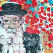 Jerusalem Man Poster