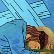 Jesus Falls Poster