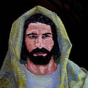 Jesus In Contemplation Poster