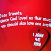 1 John Bible Verse Poster