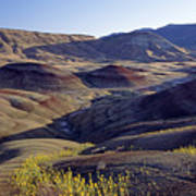 John Day Fossil Beds  Poster