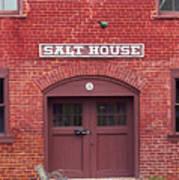 Jonesborough Tennessee - Salt House Poster