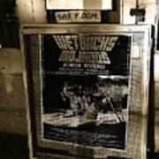 Jorge Rivero Movie Theater Poster Us/mexico Border Town Naco Sonora Mexico Poster