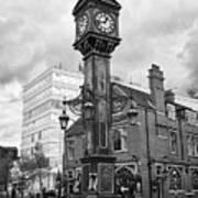 joseph chamberlain memorial clock in warstone lane jewellery quarter Birmingham UK Poster