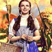 Judy Garland As Dorothy In The Wizard Of Oz Eric Carpenter Photo 1938-2014 Poster