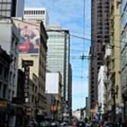 Karney Street San Francisco  Poster