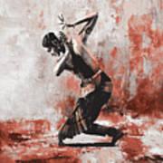 Kathak Dancer  Poster