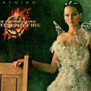 Katniss Hunger Games Catching Fire Poster
