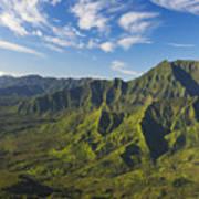 Kauai Aerial Poster