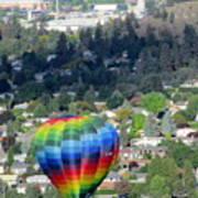 Kelowna Ballooning 1 Poster