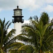 Key Biscayne Lighthouse, Florida Poster