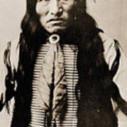 Kicking Bear Indian Chief Poster
