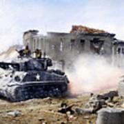Korean War: Tank, 1951 Poster