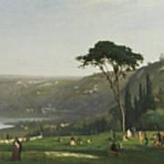Lake Albano Poster