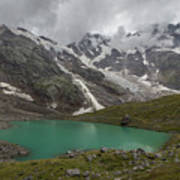 Lake Locce And Monte Rosa - Piedmont / Italy Poster