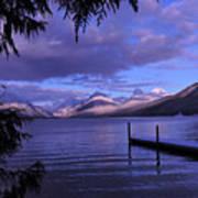 Lake Mcdonald Sunset Poster